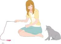 ネコのお世話